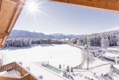 Ausblick vom Hotel im Winter (Hotel Tann)