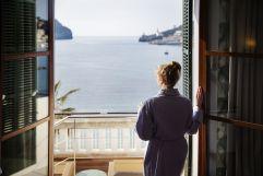 Ausblick vom Hotelzimmer (Hotel Espléndido)