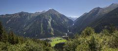 Ausblick von der Gerlos Alpenstraße im Sommer (Tourismusverband Krimml)