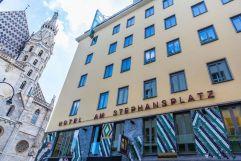 Aussenansicht Hotel am Stephansplatz mit Dom (Hotel am Stephansplatz)