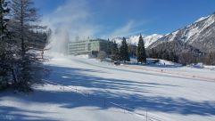 Aussenansicht im Winter des Hotels MyTirol