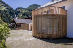 Außenansicht Wellnessbereich (Alpengasthof Zollwirt)
