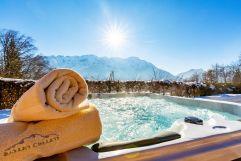 Aussenwhirlpool mit traumhaften Ausblick (c) Foto Stockklauser-Ruperti-Hotel GmbH & Co.KG (Salzburg Chalet)