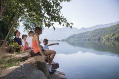 Aussicht auf den Lago di Levico genießen (c) Federico Modica (TVB Valsugana Lagorai)