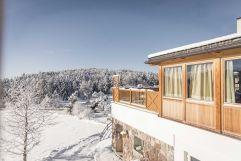 Aussicht vom Hotel im Winter (Hotel Tann)