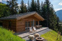 Auszeit zu zweit im Kuschel-Chalet (Benglerwald Berg Chaletdorf)