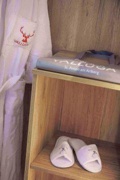 Bademantel & Co. - perfekt ausgestattet für den SPA-Bereich (c) Johanna Gunnberg (VALLUGA Hotel)