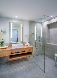 Badezimmer im Hotel Kaiserblick (c) Markus Auer