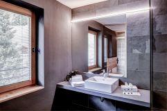 Badezimmer im Apartment Seespitz im Alpengasthof Zollwirt (c) Peter Leitner