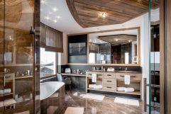 Badezimmer im Penthouse (c) Alexander Maria Lohmann (Alpen-Wellness Resort Hochfirst)