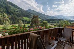 Balkonausblick vom Hotel (Alphotel Tyrol)