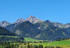 Beeindruckende Aussicht aufs Gaishorn (Hotel Bergblick)