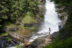 beeindruckender Wasserfall (c) Rene Gruber (Tourimusverein Klausen)