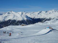 Bergausblick von der Piste (c) Peter Leitner (Alpengasthof Zollwirt)
