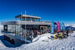 Bergrestaurant Gipfeltreffen an der Bergstation Dorfbahn Königsleiten (MY ALPENWELT RESORT)