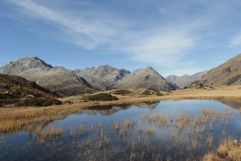 Bergsee im Herbst (Alpengasthof Zollwirt)