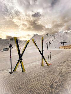 Bestens präparierte Pistenkilometer (Alpinhotel Berghaus)