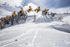 Betterpark Jump im Skigebiet Alpendorf