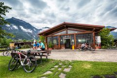 Bici Grill am Radweg des Valsugana (c) StoryTravelers (TVB Valsugana Lagorai)