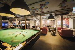 Billiard in der playfactory (alpina zillertal)