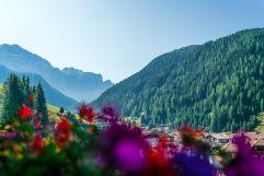 Blick auf die Berge vom Balkon aus (c) Daniel Demichiel (Hotel Sun Valley)