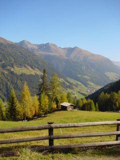 Blick ins Tal im Sommer (Alpengasthof Zollwirt)