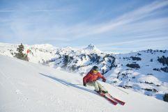Blick Richtung Skigebiet Damüls-Mellau (c) Alex Kaiser_Bregenzerwald Tourismus (Alpenresort Walsertal)