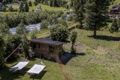Blick vom Balkon im Sommer (Alpengasthof Zollwirt)