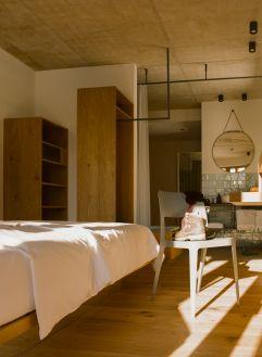 BLÜ Rooms mit Südbalkon (c) Lisa Edi (Hotel Blü Gastein)