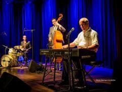Das Richie Loidl Trio heizt beim Boogie Tanzfest im Larimar ein (c) richieloidl.at Bernhard Guigon
