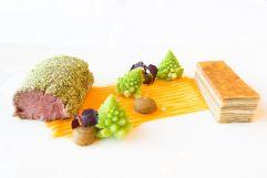 Chefkochs Damnjan kulinarische Kreation (Hotel NIDUM)