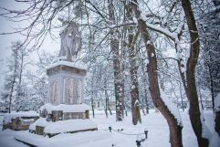 Denkmal der Umgebung im Winter (c) Tibor Csepregi (Bad Bük)