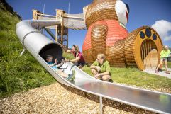 Der neue Abenteuerspielplatz Pepis Kinderland am Penkenjoch (TVB Tux-Finkenberg)