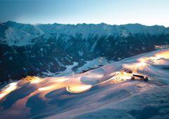 Die längste beleuchtete Rodelbahn - 14 km und 1300 Höhenmeter (Wildkogel Arena)