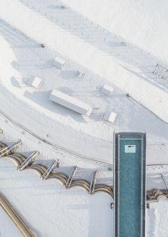 Dieser Skypool ist ein Unikat in der Wellnesswelt (Alpin Panorama Hotel Hubertus)
