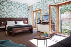 Doppelbettzimmer (Hotel Espléndido)