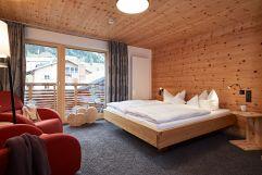 Doppelzimmer am Park (c) Tobias Burger (Bio-Hotel Oswalda Hus - Kleinwalsertalhotels)