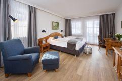 Doppelzimmer Comfort (c) Heimplätzer Werbefotografie (Concordia Wellnesshotel & Spa)