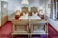 Doppelzimmer im Familienzimmer (Alpengasthof Zollwirt)