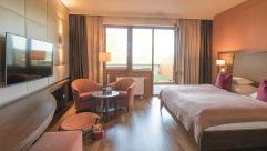 Doppelzimmer mit Gartenanteil für Hunde (Hotel Larimar)