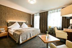 Doppelzimmer Superior Traunblick (Hotel Goldenes Schiff)
