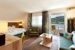 Doppelzimmer Swan mit Balkon (KOLLERs Hotel)