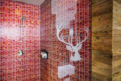 Dusche im Spa-Bereich (c) Johanna Gunnberg (VALLUGA Hotel)