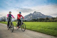 E-Bike fahren (Peternhof)