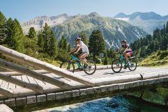 E-Bike Tour mit Bergpanorama (Tourismusverband Krimml)