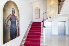 Eingangsbereich Bistro und Bar (c) Johanna Gunnberg (Hotel Espléndido)
