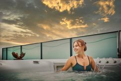 Einmaliges Ambiente im Wellnessbereich (Hotel Asam)