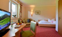 Einzelzimmer im Hotel Waldfriede