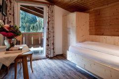 Einzelzimmer mit Balkon (Alpengasthof Zollwirt)