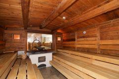 Entspannen in der Almsauna (Hotel Bergblick)